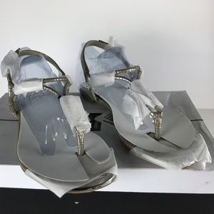 Dolce Vita Marly Lizard Embossed Sandals Size 6